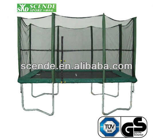 7ftx10ft Rectangle Trampoline With Enclosure