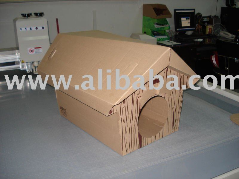 Cardboard Pet Toy, Cardboard Pet House