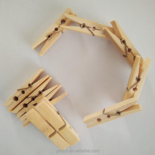 Large bamboo clothespin laundry clips peg with compete price