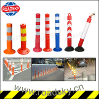 75mm Flexible Driveway Guide Plastic Sign Post