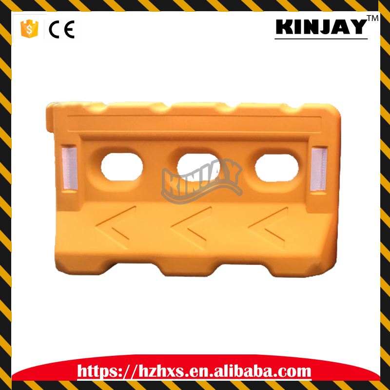 Foldable Plastic Traffic Water 6KG Filled Barrier for Road Construction