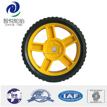 Plastic wheel 150mm lawnmower wheel