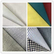 Chinese factory direct dyed and white 40s 133*72 100% cotton material textile fabric for shirt , dress and lining