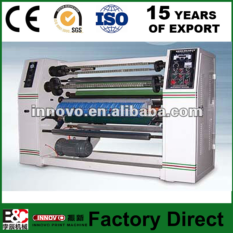 ZX500 1100 high speed adhesive tape slitting machine cutting BOPP Stationery tape BOPP Sealing tape