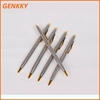 Exquisite cross pen,metal ballpoint pen with gold clip low price with high quality