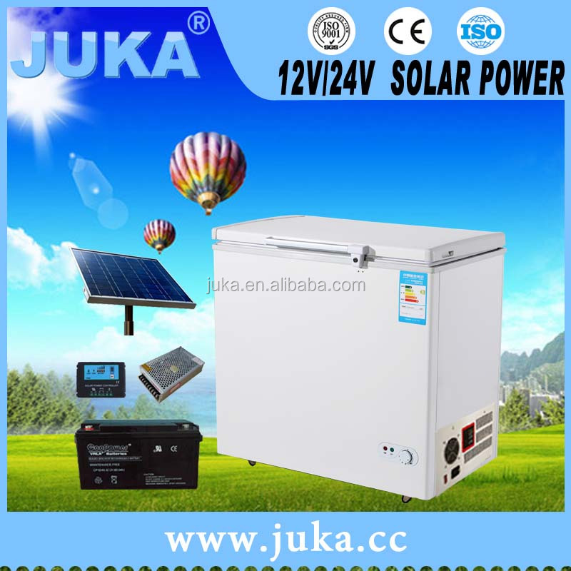 High Quality Off Grid Auto Dc Freezer 2016