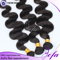 On Sale Premium Cuticle No Chemical Double Drawn Loose Wave Brazilian Human Hair Extension