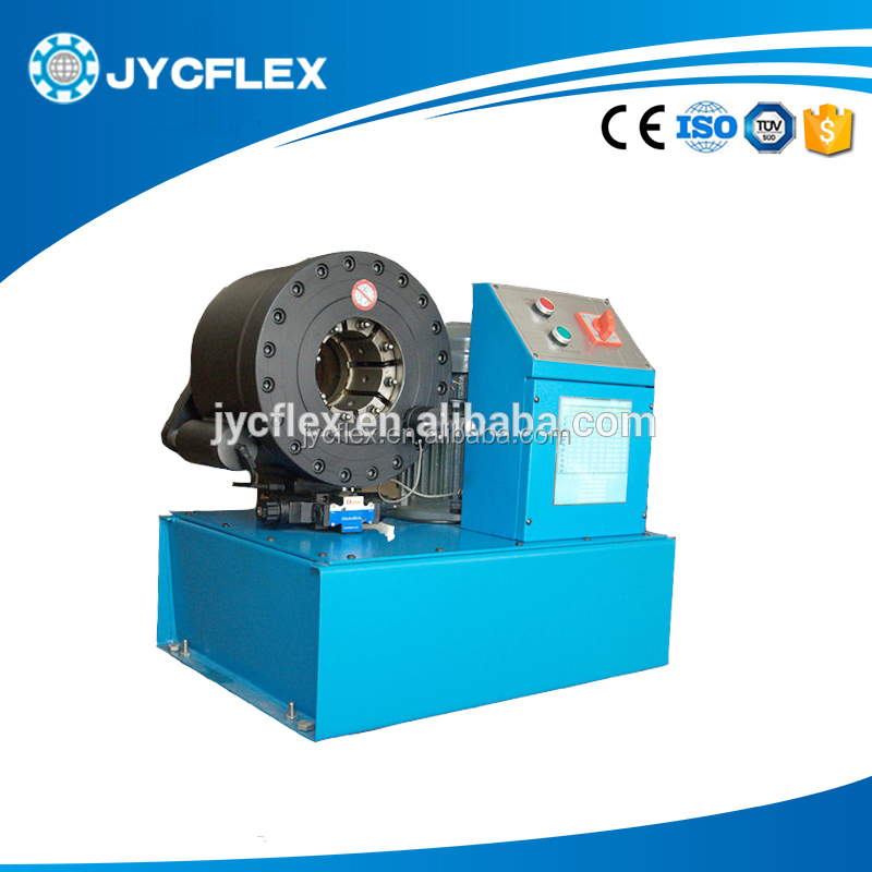 manual hose crimper JYC-E38 wire rope swaging machine for sale