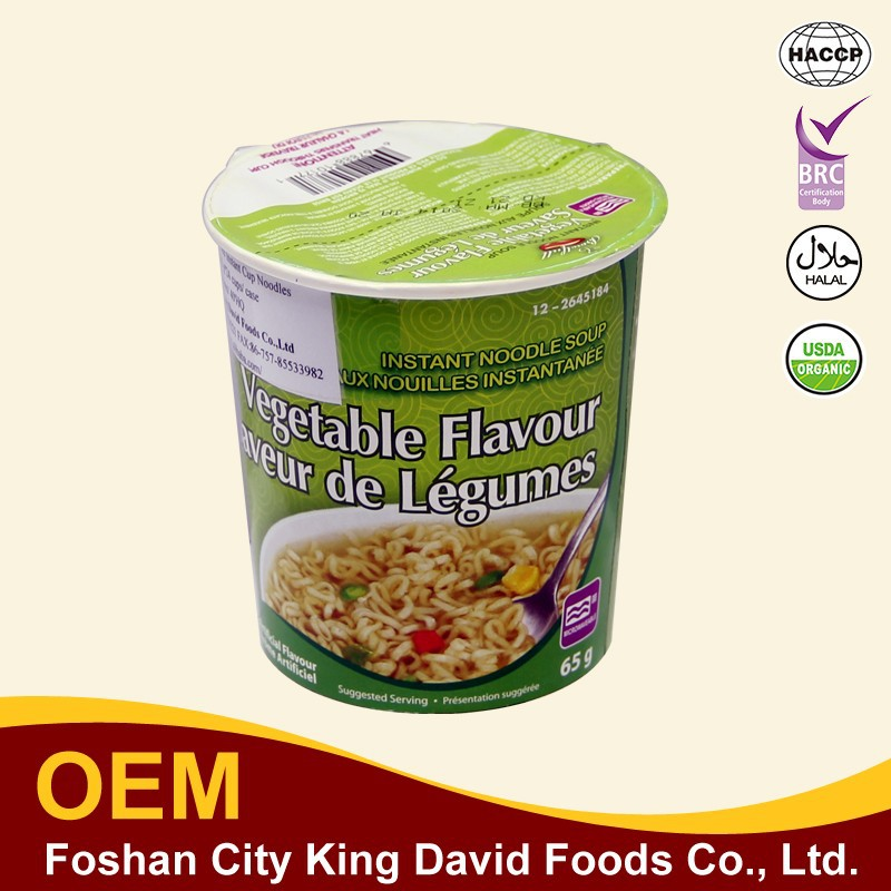 OEM China Wholesale Cup Korean Yum Yum Instant Noodle