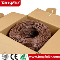 Factory price sales Cat6 with power wire 4 pairs twist structure
