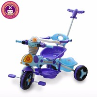 High Quality Wholesale Plastic Boys Metal Baby Push Tricycle