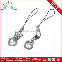 Lovers phone line mobile phone strap mobile phone case neck strap