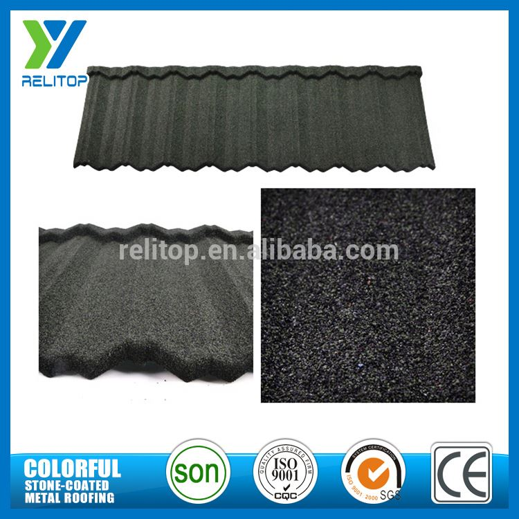 Recyclable Aluminium Zinc Stone Coated Sand Coated Roofing