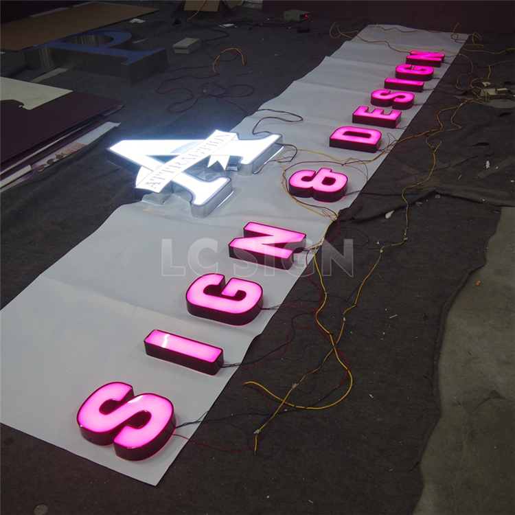 Cheap Wholesale Custom Fashion Storage Cardboard Luxury nice look diy led channel letters With Good Service