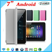 Hiqh Quality 7Inch Smart Android Tablet Pc Support GSM/WCDMA Calling Bluetooth Wifi GPS