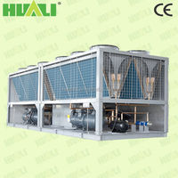 Air conditioning system air cooled water chiller