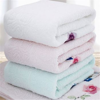 soft roll bath towel/hotel towel
