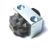 Tungsten bush hammer, roller with 20 teeth for concrete grinding