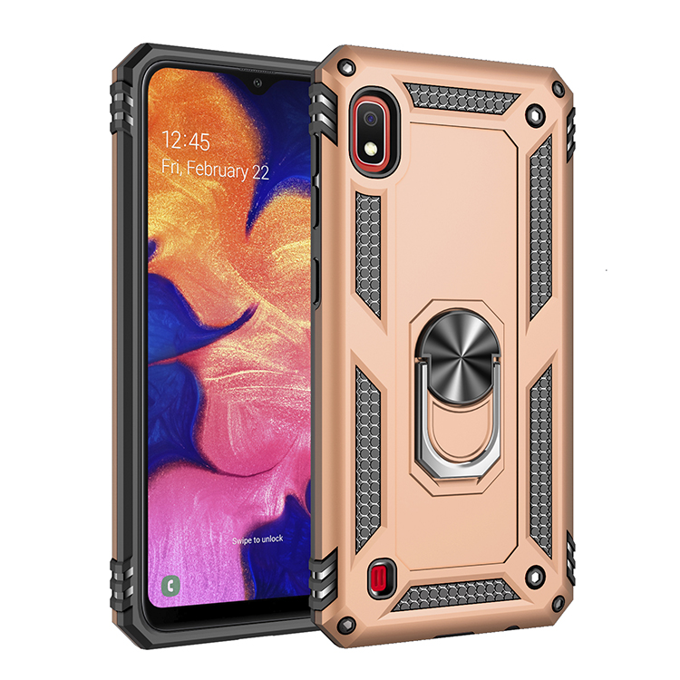 Magnetic Adsorption Metal Bracket Mobile Phone Accessories Back Cover Case for Samsung Galaxy <strong>A10</strong>