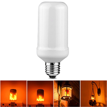 Simulation Fire Burning Flicker Replace Gas Lantern Decoration Dynamic Flame Effect LED lighting bulb 110V 220V E27