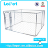 wholesale supply oxidation resistance classic galvanized outdoor dog kennel