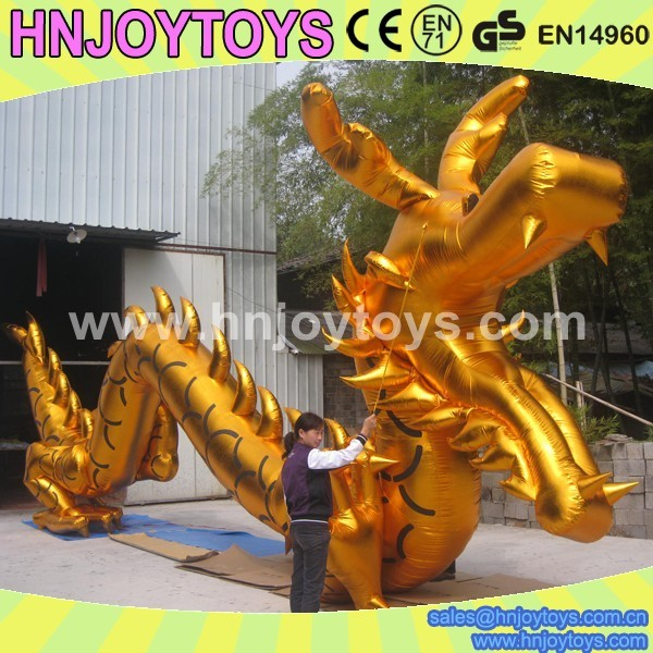 2016 Hot Sale cheap giant inflatable dragon model for advertising