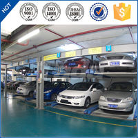 Two level PSH puzzle automatic car parking system/parking solution