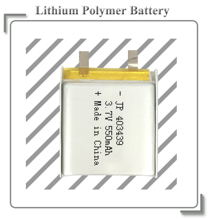 Lipo battery 3.7V 550mAh lithium battery pack rechargeable battery for GPS tracker