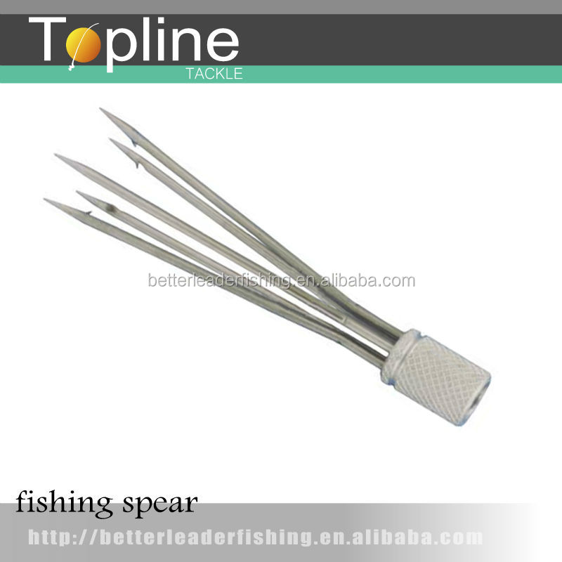 stainless steel cluster fishing spear head / fish hunting tool made in China