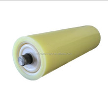 PU conveyor roller,PU conveyor idler for bulk material handling pass CE ISO certifcation