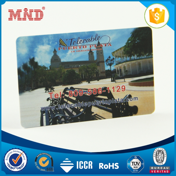 2017 New food grade 1K rfid key tag card