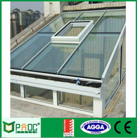 Australia Standard Laminated Glass Aluminium Sunroom/Sunroom Roof With Factory Price