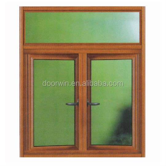 Aluminum Casement Window with Rolling Shutter and Fly Screen