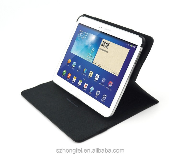 OEM 360 Degree Rotating Leather Cover case For iPad pro tablet case Sell from china