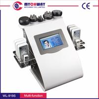 BEST COMBINATION !!! Lip Laser+ Cavitation+RF+Vacuum+ Ultrasonic Liposuction Cavitation Slimming Machine from Mychway