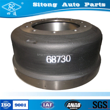 Heavy Duty Parts Truck Brake Drums Used for Truck Italy 68730