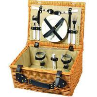natural wicker picnic basket set for sale