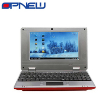 "Cheap 7"" dual core laptop PC Laptop computer wm8880 1.52Ghz Android 4.4 with WIFI HDM RJ45 USB port netbook OPNEW wholesale"