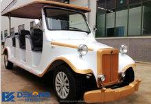 Brand new 12 seats retro electric car from china wholesale
