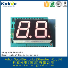 1.0 inch two digit common cathode seven segment LED digital display