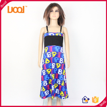 Clothing factory children frocks designs one piece kids girl party dress