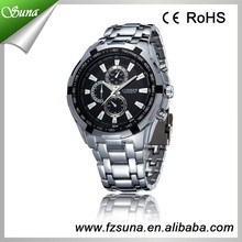 New Products 2016 All Stainless Steel Mens Wrist Watch