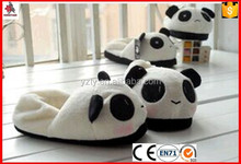 comfortable plush animal indoor slippers for kids