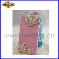 Luxury 3D Crystal Diamond Bling Case for iPhone 5,Back Rhinestone Case Cover--Laudtec