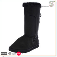 Professional manufacture cheap woman snow boots