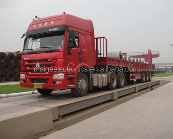 100 ton Vehicle Weighing Scales Digital Electronic Truck Scale Weighbridge System with Printer