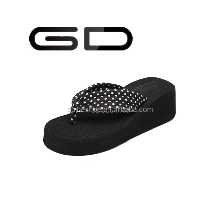 GD supply design cheap slippers women summer black flip flops