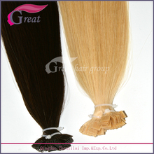 Indian remy huamn hair ombre i tip hair extension