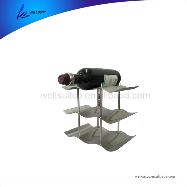 high quality marine stainless steel guitar shaped wine rack