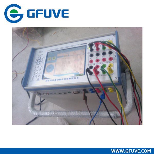 Advanced protection relay test set GFUVE Test-330 secondary injection relay test set with excellent working performance